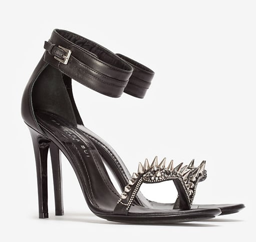 We don't need a red carpet — like Barbara Bui spike metal sandals ($795) on, no one, we mean no one, will mess with you.