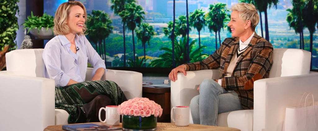 Rachel McAdams on The Ellen DeGeneres Show October 2016