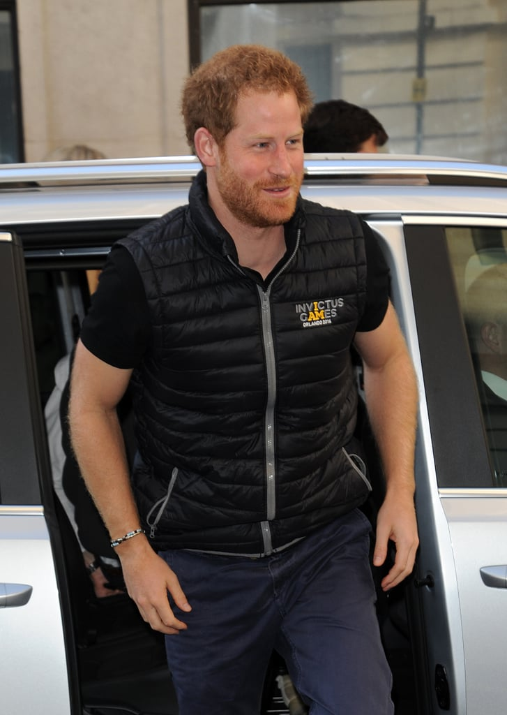 Prince Harry in London April 2016