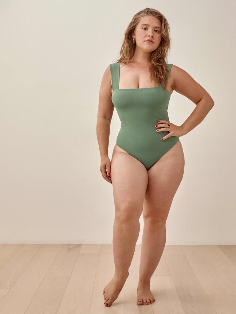 Reformation Figue Square Neck One Piece