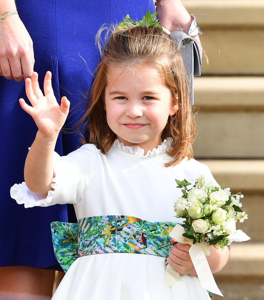 c12fca798 Princess Charlotte made her grand entrance on May 2, 2015, days after her  reported