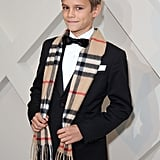 Romeo Beckham at Burberry Festive Campaign Launch Pictures
