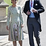 Attending the Royal Wedding in a Mint Green Number