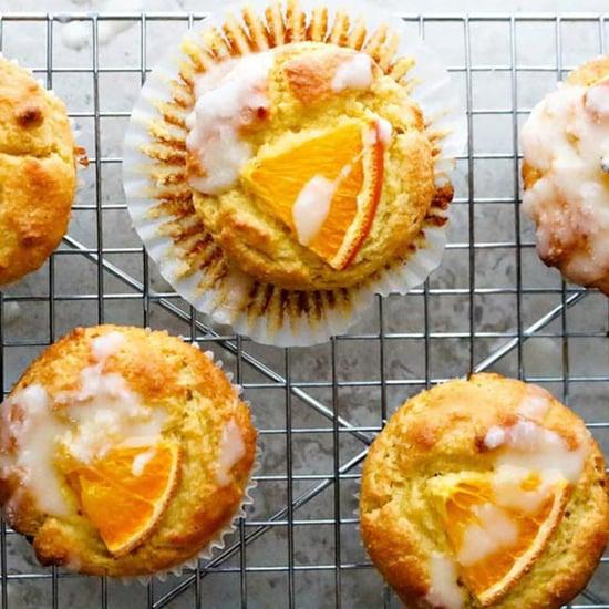 Orange Keto Muffins
