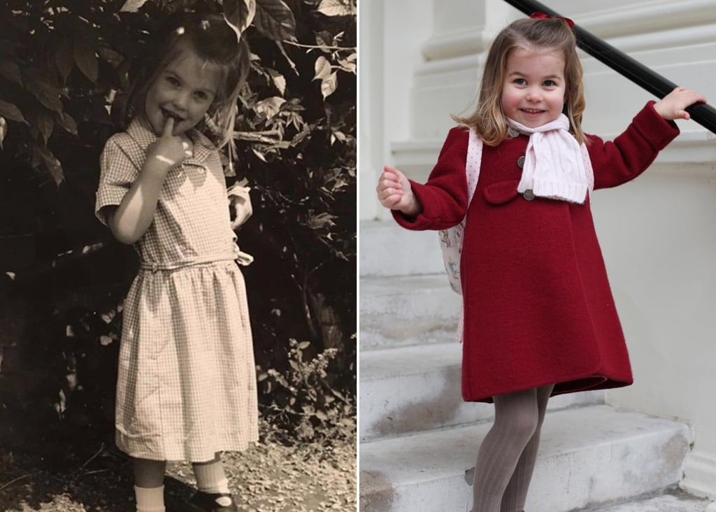 Princess Charlotte and Lady Kitty Spencer Look-Alike Photos