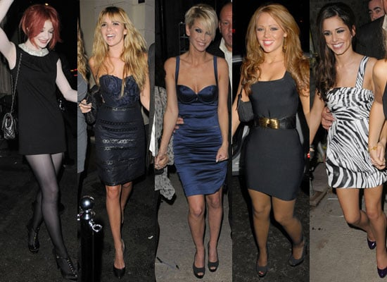 Photo Gallery of Girls Aloud Who Are Number One in the Singles Chart with The Promise