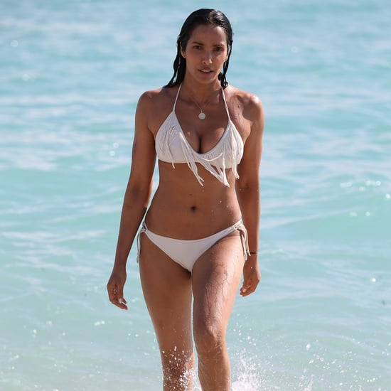 Padma Lakshmi Bikini Pictures in Miami November 2016