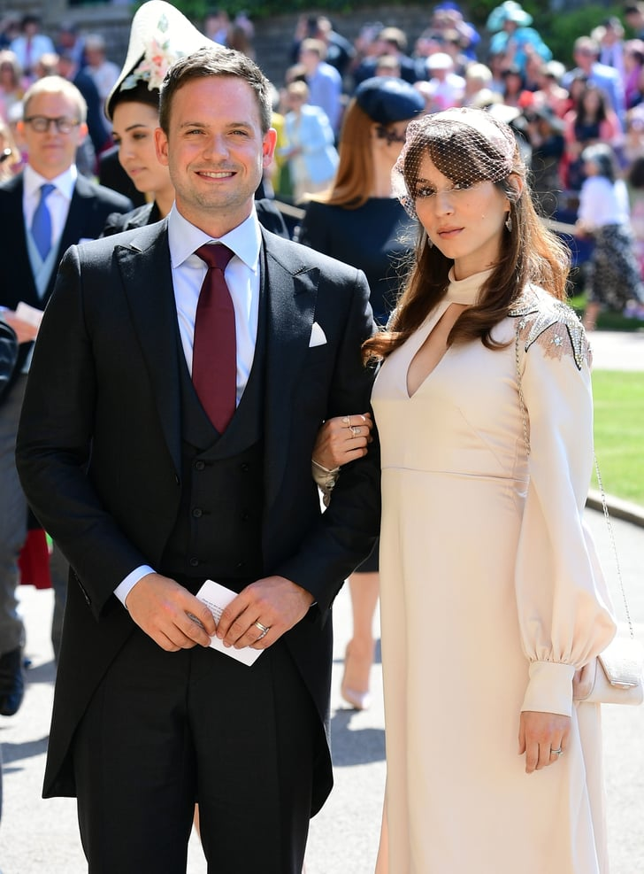 suits cast at the royal wedding 2018 popsugar entertainment suits cast at the royal wedding 2018