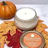 Pumpkin Cider-Scented Soy Candle