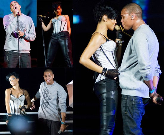 Photos of Rihanna and Chris Brown Together on Stage