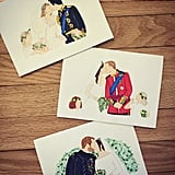 Royal Family Wedding Card Set