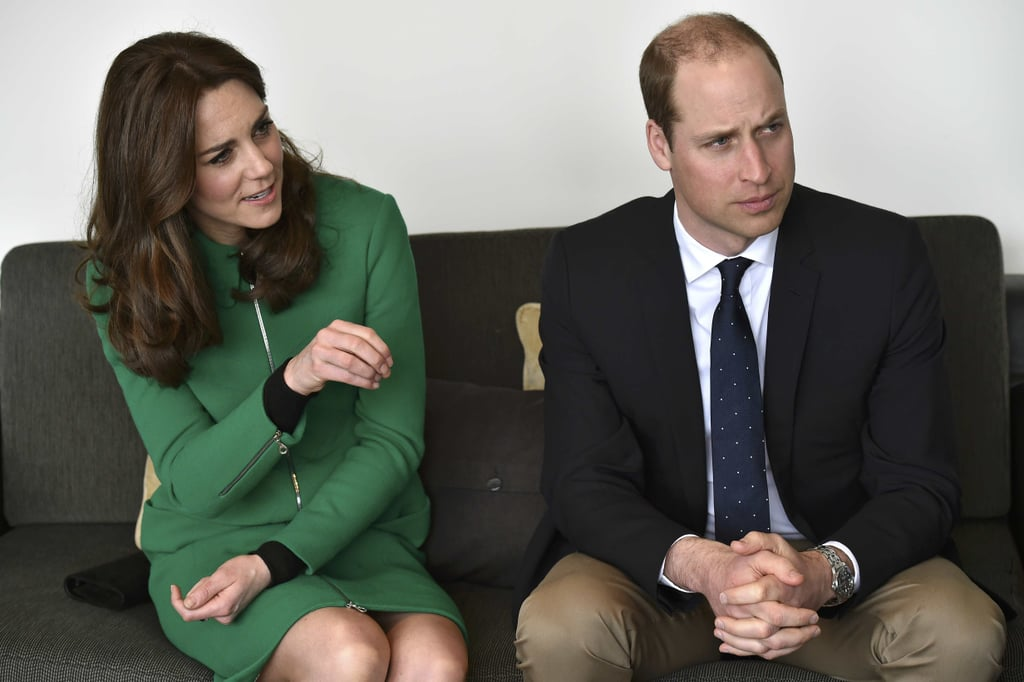 Kate Middleton Prince William at St. Thomas Hospital 2016