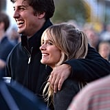 Cressida Bonas and a group of friends attended the Invictus Games closing ceremony.