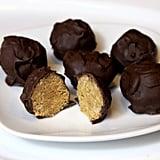 Vegan Peanut Butter Crisp Balls