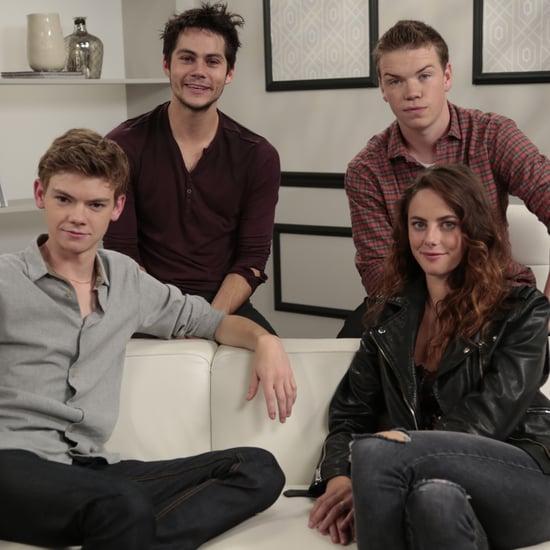 The Maze Runner Stars Interview | Video