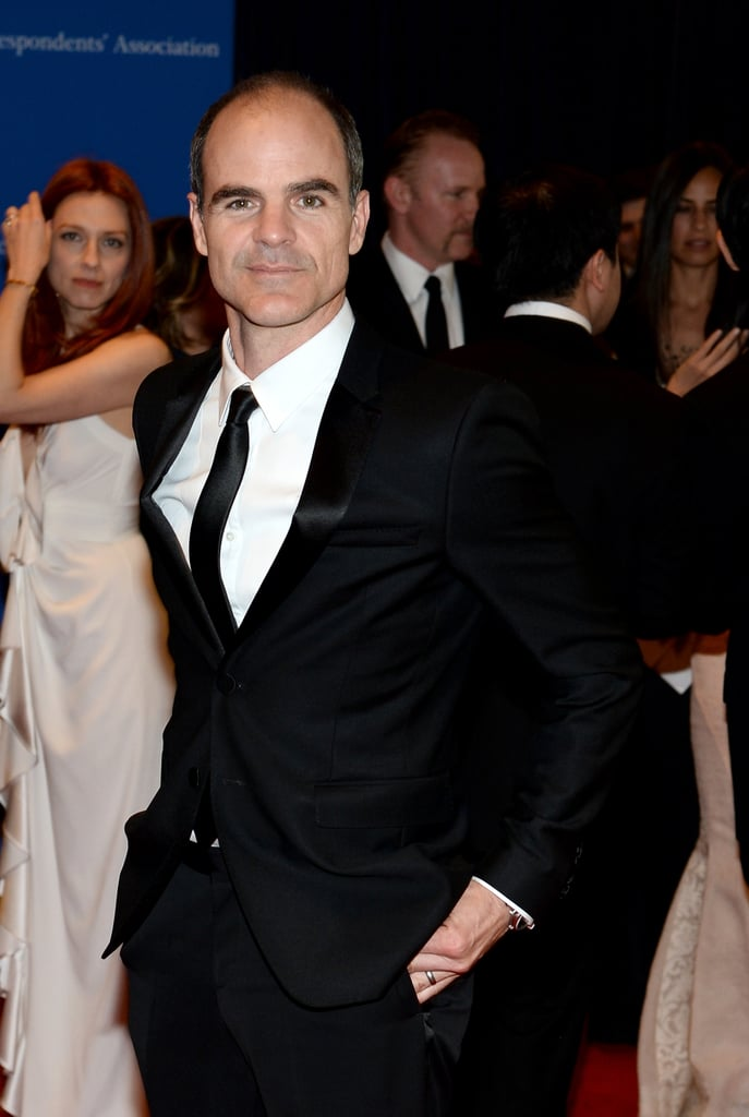 Michael Kelly plays a Washington insider on House of Cards, but he was part of the Hollywood crowd on Saturday.