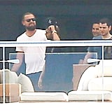 Leo and his friends spent Tuesday on the vessel.