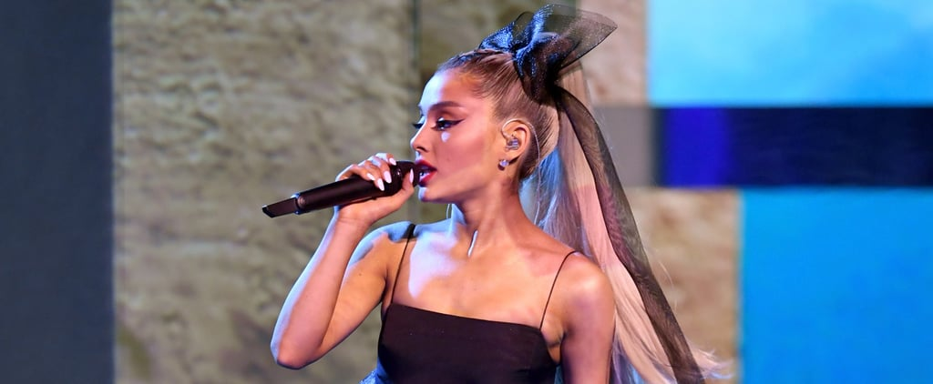 Ariana Grande's Hair Bow at 2018 Billboard Music Awards
