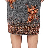Prada Women's Embellished Mohair-Blend Pencil Skirt