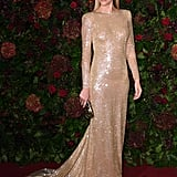 Poppy Delevingne at the 65th Evening Standard Theatre Awards