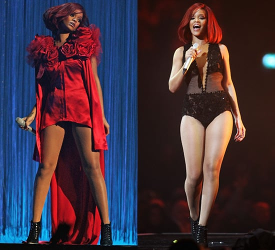 Photos of Rihanna on Stage at the 2011 Brit Awards