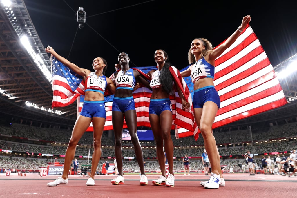 Team USA Wins Gold in Women's 4x400m Relay at 2021 Olympics