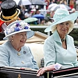 Queen Elizabeth II and Camilla, Duchess of Cornwall