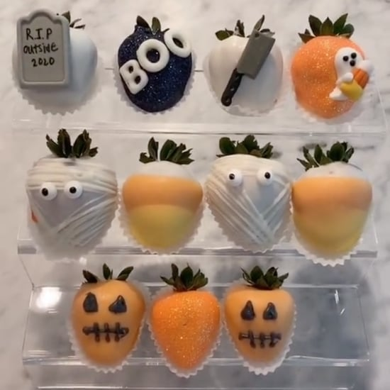 Halloween Spooky Strawberries Recipe