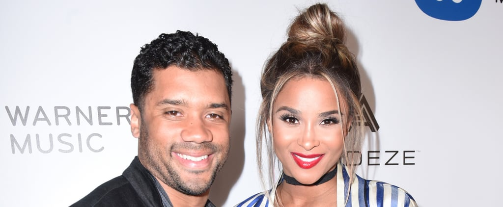 Russell Wilson Cradles Ciara's Baby Bump During a Cute Red Carpet Outing