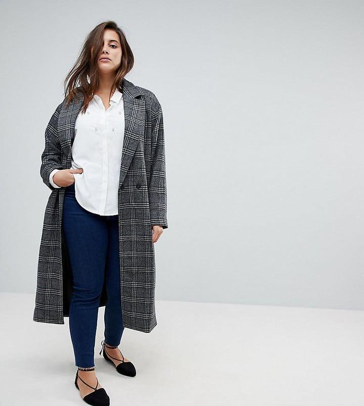 e49b924c1809c Kate Middleton Plaid Zara Coat | POPSUGAR Fashion