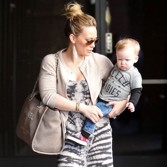Hilary Duff Takes Son Luca to Mommy-and-Me Class in LA