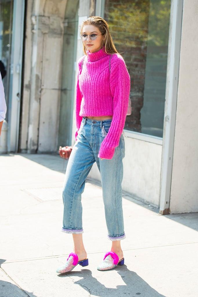 Gigi's Model Off-Duty Look Was on Point