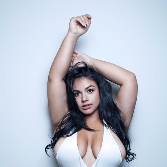 Plus-Size Model Re-Creates Kim Kardashian Swimsuit Shoot