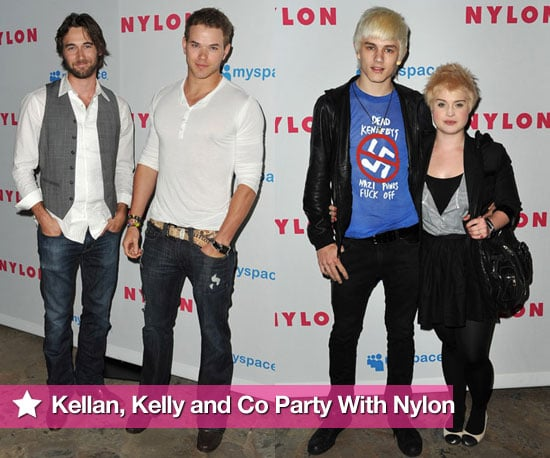 Photos of Kelly Osbourne, Luke Worrell, Kellan Lutz, Ryan Eggold at Nylon Magazine's Young Hollywood Issue Party