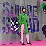 Then He Wore It on the Suicide Squad Red Carpet