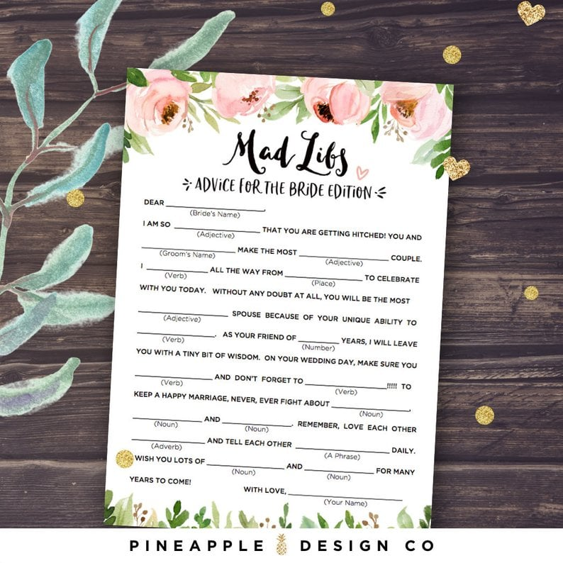 Wishes for the Bride and Groom Bridal Shower Game Package Advice for the Bride Date Night Cards ASHLEY Collection Emoji Game
