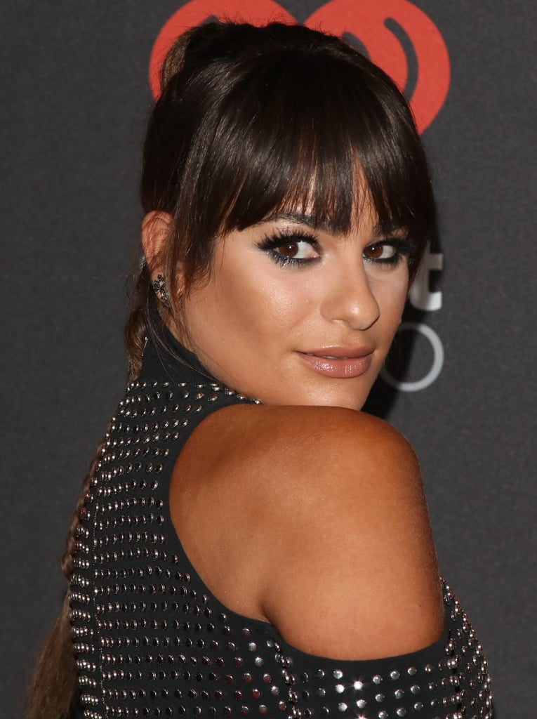 Lea Michele Made 1 Drastic Change to Her Hair For 1 Night Only