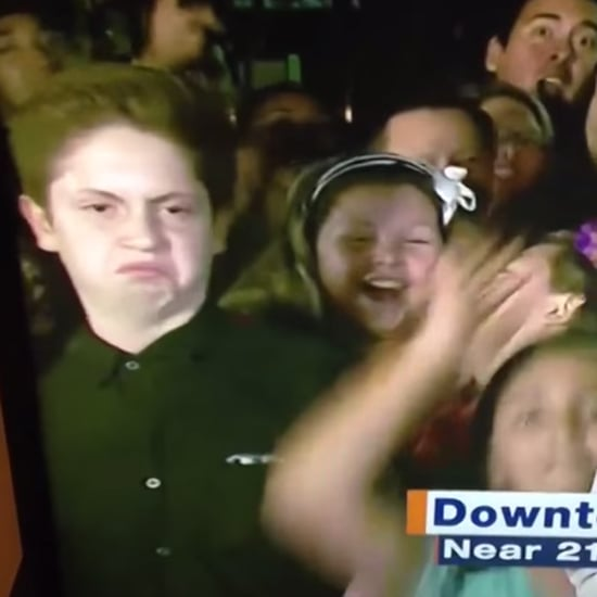 Funny Kid Dancing Like a Diva on the News | Video