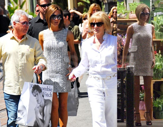Posh Gives Her Parents a Tour of Her LA