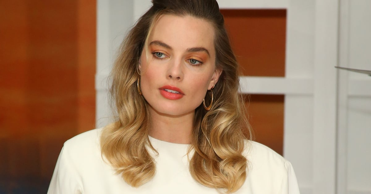Margot Robbie Won Summer by Wearing Its Biggest Trend on Her Eyes, Lips, and Nails