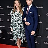 Eddie Redmayne and Hannah Bagshawe Have a Whole Host of Heart-Warming Moments