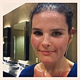 As far as we're concerned, sweaty equals gorgeous!  Source: Instagram user sarah486