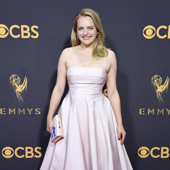 Elisabeth Moss's Handbag at the 2017 Emmys