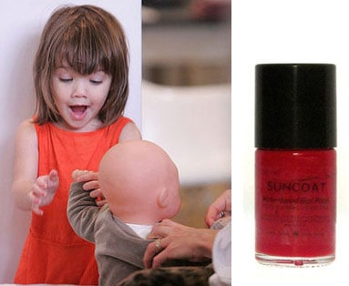 Suri Cruise Wears Nail Polish Made for Children