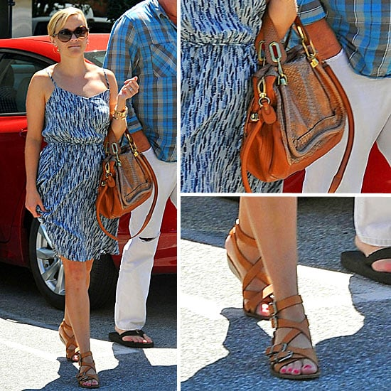 Reese Witherspoon Carrying a Chloe Bag