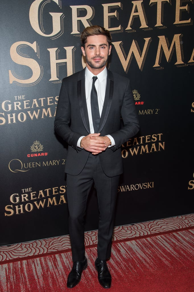 Hugh Jackman and Zac Efron Bring Their Bromance to the Premiere of The Greatest Showman