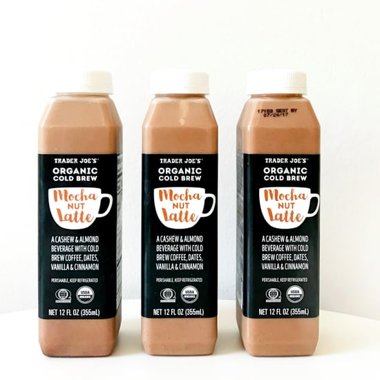 Trader Joe's Cold Brew Mocha Nut Latte