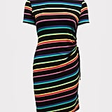 Torrid Rainbow Stripe T-Shirt Dress