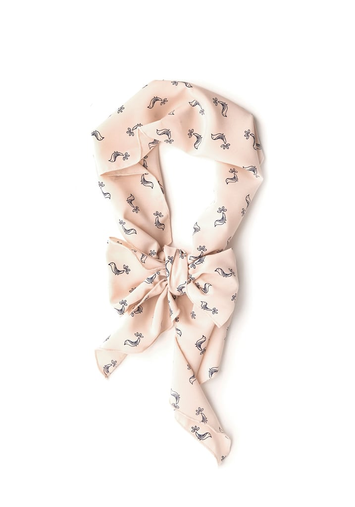 This bird-print scarf ($10) from ModCloth is one of the cutest accessories we've seen in a while — and that price ain't bad either.