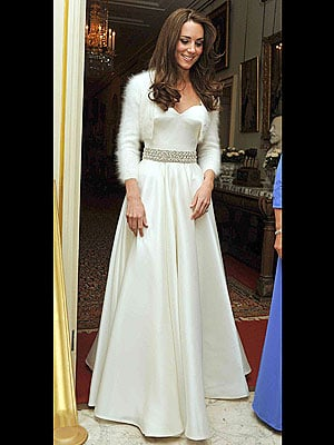 Kate Middleton's Second Wedding Dress: Strapless McQueen!